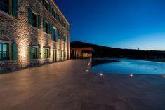 A friendly, family-operated design hotel. Design Hotel, Restaurant Design, Heritage Hotel, Terrace Design, Wine Cellar, Croatia, Daughters, Dates, Bottles