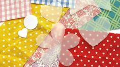 Tracing paper shapes on fabric | Fabric and felt brooches | Tesco Living