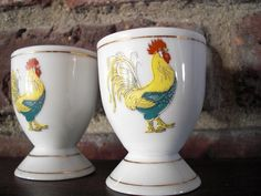 French egg cups . . .