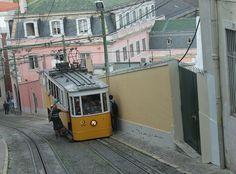 """Elevador da Gloria"" Lisboa, Portugal. BySangoma #places #sangoma #sango_photo #bysangoma #photograpy #photographer #sangomatravel #toursangoma"
