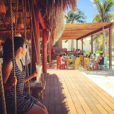 Swing by Hyatt Ziva Cancun. Photo via @jennisssy.