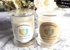 Medium Danube Jar Candle/Eco Soy Wax/phthalate free fragrance/Spiced Chocolate & Lemon Scented Myrtle - pinned by pin4etsy.com