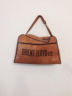 Vintage //orient Llloyd ltd//  In good overall by GarderobeCoco, ₪80.00