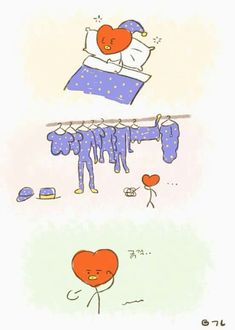 Fanart, funny, and v image Jimin, Bts Taehyung, Bts Bangtan Boy, Bts Drawings, Line Friends, Bts Chibi, Bts Fans, K Idol, Kpop Fanart