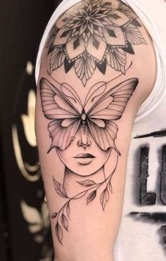 Girl Face Tattoo, Girl Arm Tattoos, Tattoos Skull, Dope Tattoos, Badass Tattoos, Mini Tattoos, Body Art Tattoos, Tattoos For Guys, Tattoos For Women
