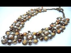 """Rock"" Necklace | Beading Tutorial - YouTube"