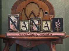 Nana Friend Mentor Inspiration-Custom by PunkinSeedProduction