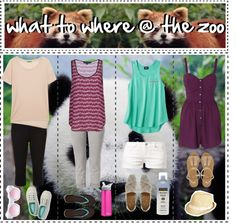"""what to wear to the zoo"" by hipsters-tipsters-sisters ❤ liked on Polyvore"