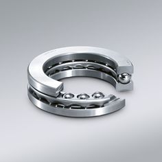 Thrust Ball Bearing- Thrust ball bearings are manufactured as single direction or double direction thrust ball bearings. They are designed to accommodate axial loads only and must not be subjected to any radial load. These bearings are separable, allowing the shaft washer, housing washer(s), ball and cage assembly(s) to be mounted individually.