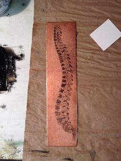 Printmaking Thursday- Sandblasting to mezzotint copper | Ink and Oil and Sippy Cups