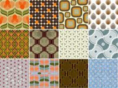 retro patterns - Google Search