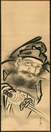 Shoki the Demon Queller | Zhong Kui (Shoki), the Demon Queller Shoki zu 鍾馗図 Japanese, Edo ...