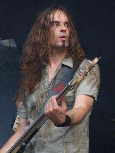 Niclas Etelävuori, Amorphis basist. Photo by Tina Solda.