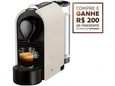 Cafeteira Expresso 19 Bar Nespresso U - Pure Cream R$ 299,90 em até 9x de R$ 33,32 sem juros no cartão de crédito