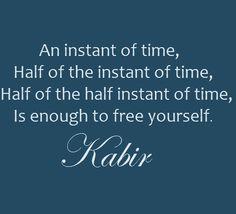 Kabir. Free yourself. Hafiz Quotes, Wisdom Quotes, Me Quotes, Sufi Poetry, Peace And Harmony, My Philosophy, Spiritual Wisdom, Verses, Spirituality