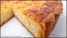 Belgian Rice Pie Recipe: a very light rice dessert that brings back childhood memories.