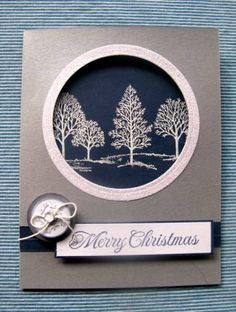 Merry Monday Challenge #45 by deckols - Cards and Paper Crafts at Splitcoaststampers