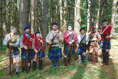 Campbell's 42nd Highlanders--Eric Forster, Daniel Nehrer, Sgt. Steven McKee, Jason Yost II, Caleb Holt, Debi Clair, Robin Herne, Rob Shaner