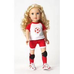 "Journey Girls 18 inch Doll Fashion Outfit - Soccer Outfit - Toys R Us - Toys ""R"" Us"