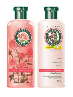 Old school Herbal Essences shampoo & conditioner. --My fave has always been the green shampoo and yellow conditioner. So glad they're back!! So much better than the ones they were replaced with.