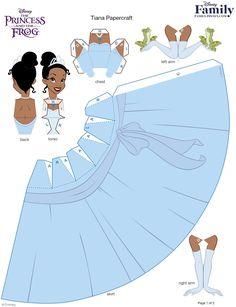 princesa tiana 3d