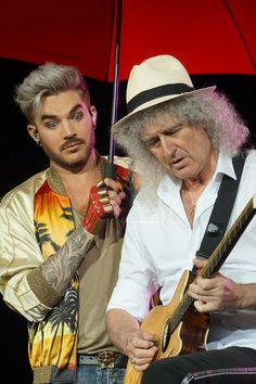 'm intrigued as to what @DrBrianMay is doing.
