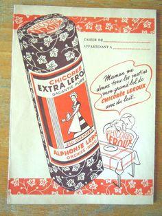 La chicorée ! Par mesure d'économie, les femmes la rajoutait au café qui prenait ainsi un bon goût de noisette !