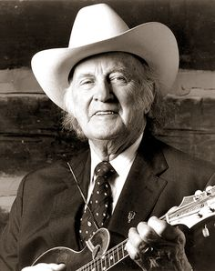 "Bill Monroe - The Father of Bluegrass. ""I'm a farmer with a mandolin and a high tenor voice."""