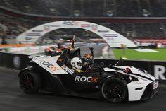 Sebastian Vettel at the Race Of Champions