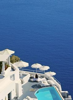 #Jetsetter Daily Moment of Zen: 6/27  Yes, a little more Santorini, Greece, please!