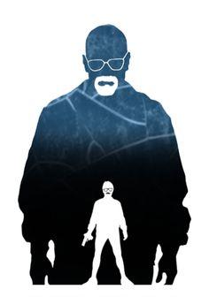 Walter White - Breaking Bad by Steve Garcia
