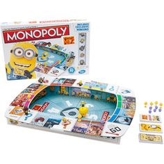 Searching for Monopoly Despicable Me 2 Game but sold out? Why not try our FREE Monopoly Despicable Me 2 Game In Stock Tracker. Monopoly Board, Monopoly Game, Family Games, Games For Kids, Family Kids, Minion Games, Minions Despicable Me, Minions 2014, Classic Board Games