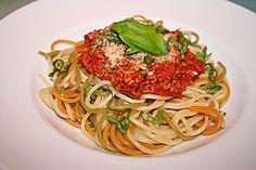 Soja - Soße nach Bolognese - Art, ein schmackhaftes Rezept aus der Kategorie Gemüse. Bewertungen: 23. Durchschnitt: Ø 4,0.