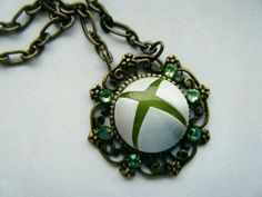 Xbox necklace for the gamer girl