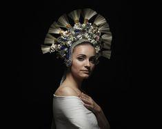 Slovak Renaissance - Slovak traditional art and esthetics by Petra Lajdova Traditional Art, Traditional Outfits, Shaman Woman, Bridal Headdress, Folk Embroidery, Art Prints For Sale, Photo Grouping, Folk Costume, Costumes