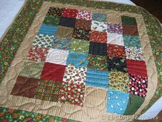 Country Quilt. handquilted Patchwork Quilting