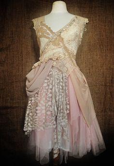 Abalone dress by NaturallyBohemian on Etsy, £280.00