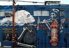 Dogtown Skateboards Skully Skater Graff gets a new image added... Bone Girl.