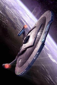 NX-01 Leaving Earth