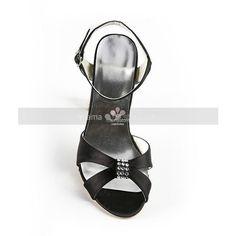 Peep toe Satin Rubber sole Wedding shoes (€84) via Polyvore featuring shoes, peep-toe shoes, satin evening shoes, wedding shoes, satin bridal shoes e satin wedding shoes