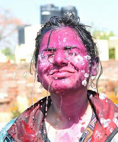 Holi 2014, New Delhi by Mukul Banerjee (www.mukulbanerjee.com), via Flickr