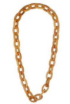 // wood necklace