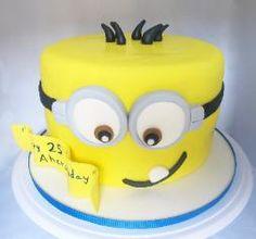 Celebrate with Sugar | Children Birthday Cakes - Miami Children Birthday Cakes | Wedding Cakes  Minion Fondant Cake
