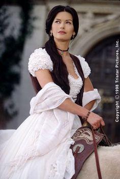 The lovely Catherine Zeta Jones in Zoro