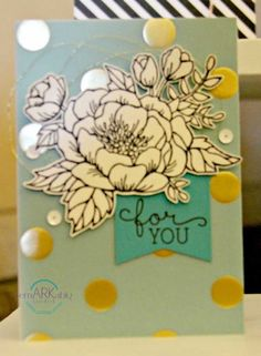 Birthday Blooms Stampin' UP! #springcatalog #stampinup #remarkablycreated - Get a 2016 Stampin' uP! spring catalog today.