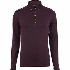 Berry long sleeve polo shirt €14.00 T Shirt Vest 040326e220