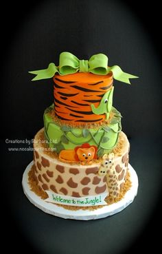 Jungle Baby Shower  By: FullHouse