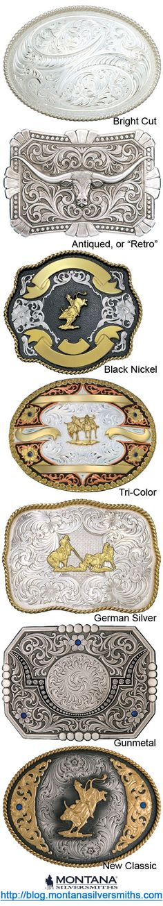 Glossary of Buckle and Jewelry Signature Finishes