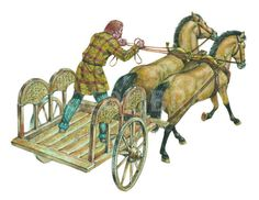 Celtic war chariot