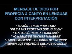Mensaje Para Los Profetas y Para el Que Quiera Escuchar A Dios - YouTube Youtube, Tell Me, The Prophet, Te Quiero, Messages, Youtubers, Youtube Movies